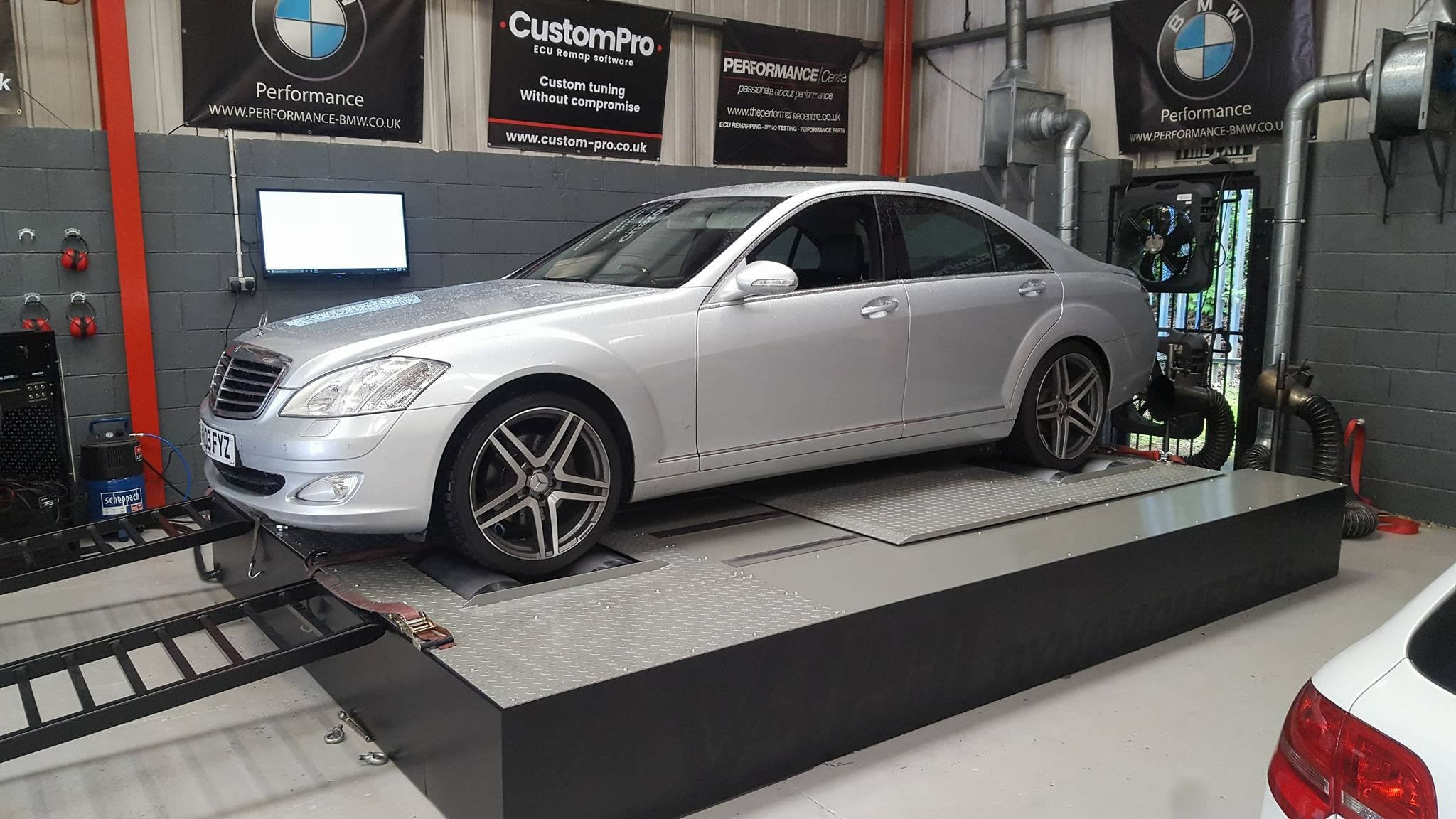Mercedes S320 CDI - CustomPro remap