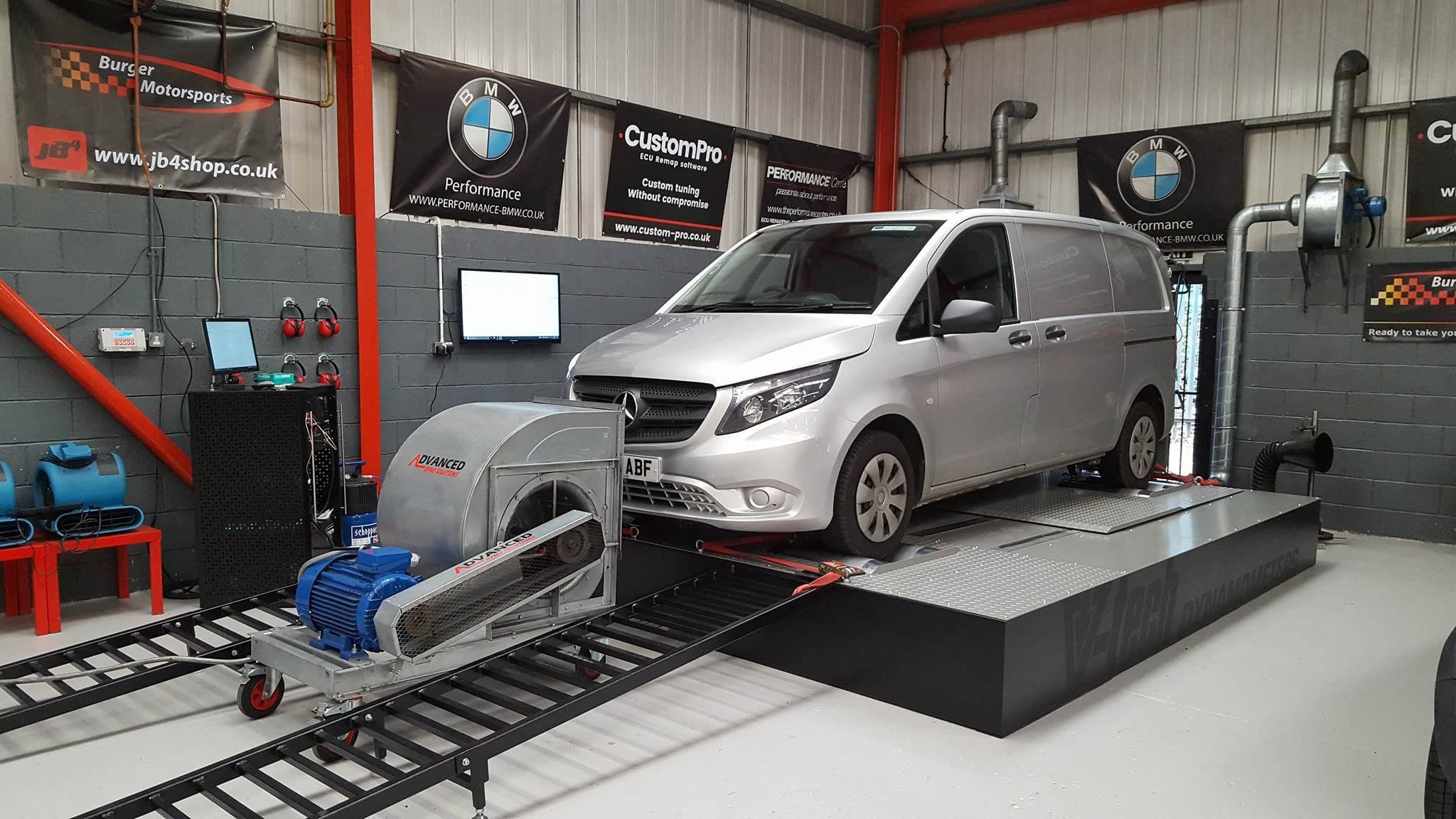 Mercedes Vito 114 CDI - CustomPro remap