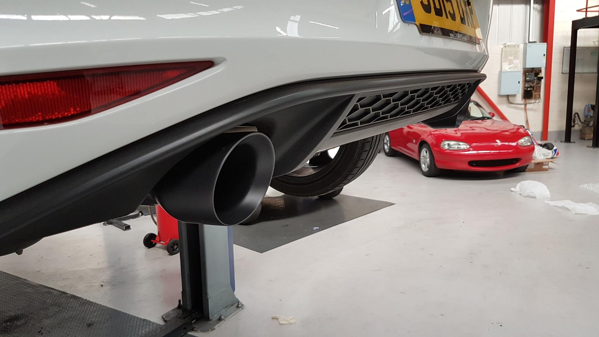 Mk7 Golf GTI - Milltek cat-back system