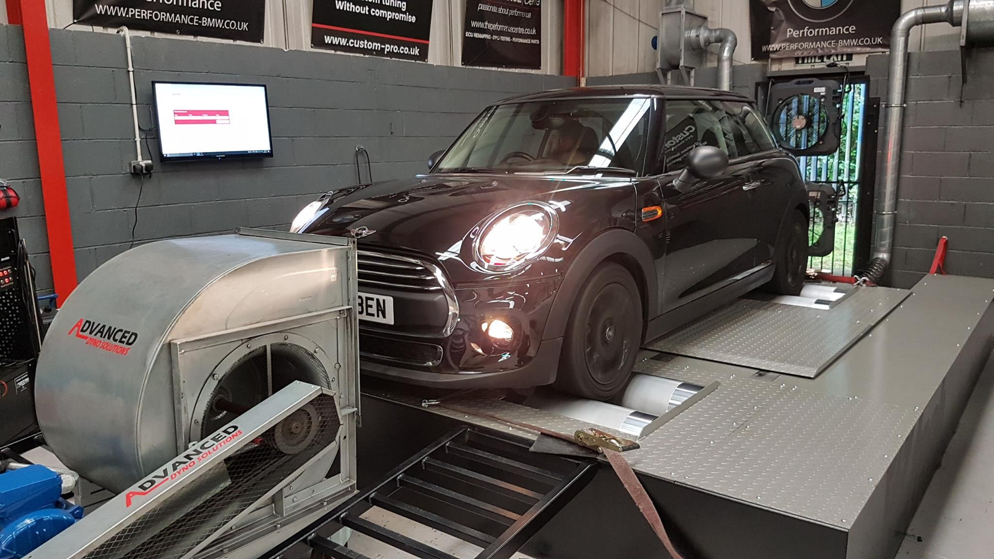 Mini One D - CustomPro remap and H&R lowering springs