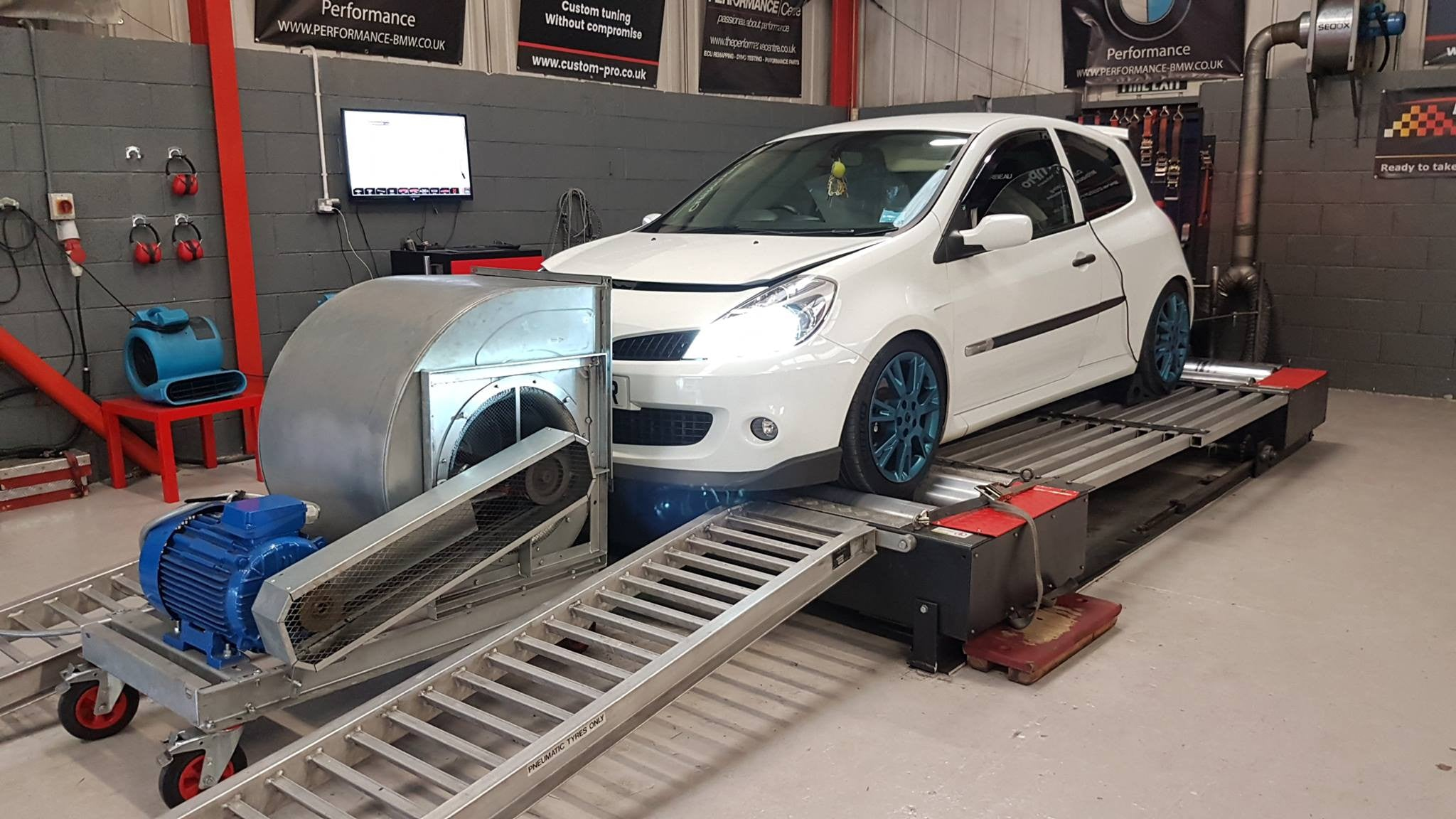 Renault Clio 197 - Dyno test