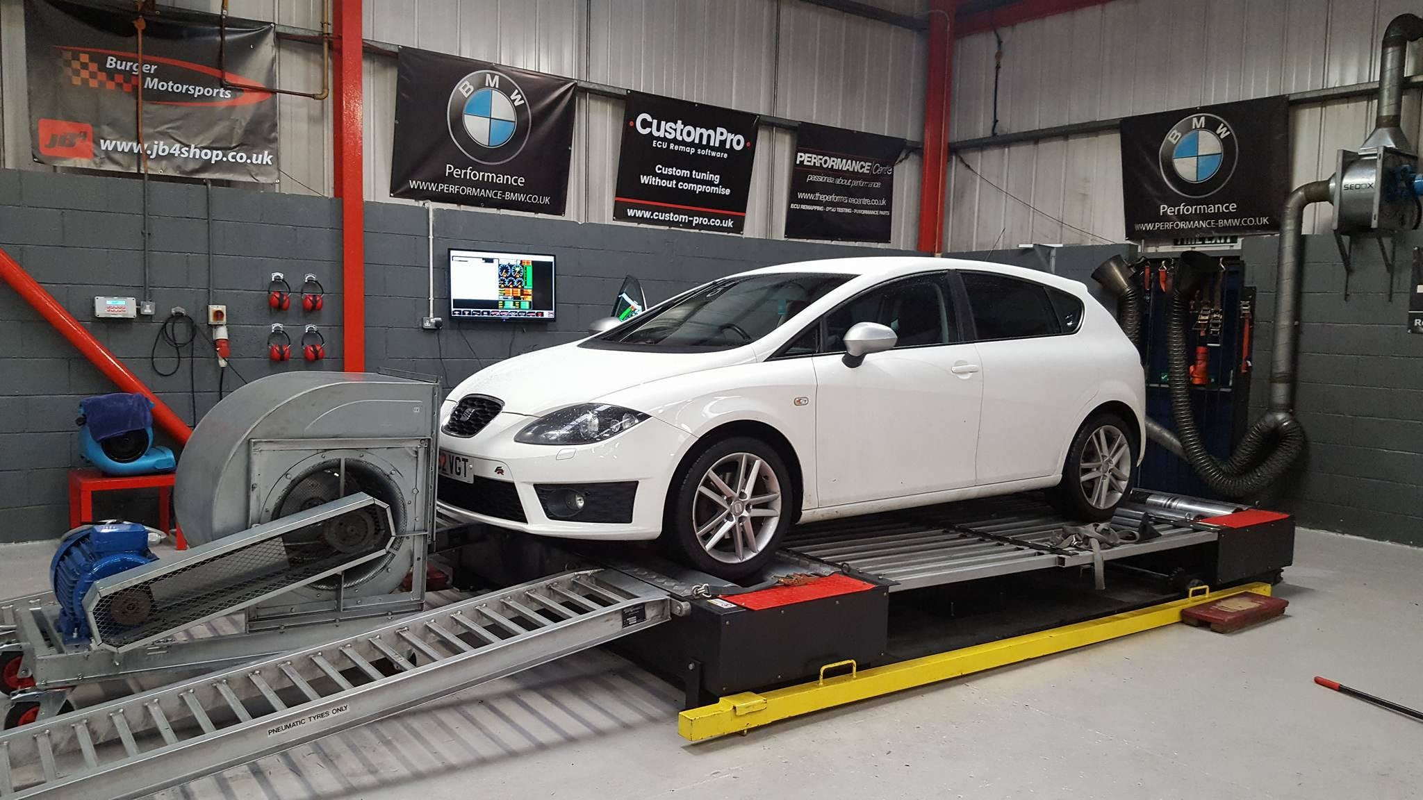 Seat Leon FR 140 - CustomPro remap software
