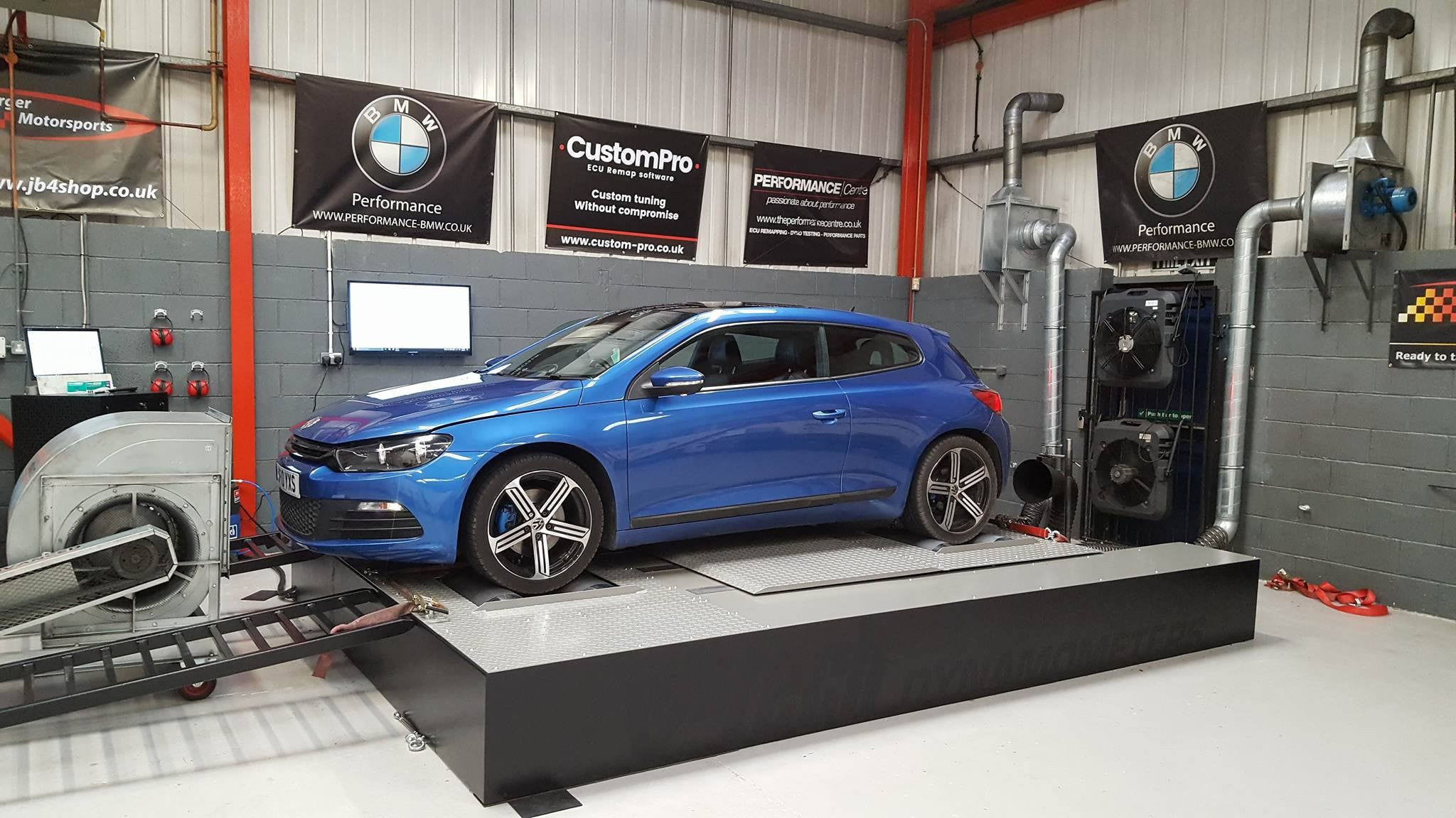 Volkswagen Scirocco 1.4 Twincharged - CustomPro remap