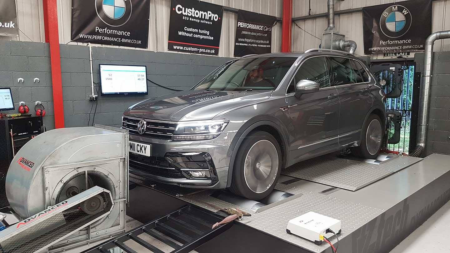Volkswagen Tiguan 2.0 Bi-Turbo - CustomPro remap