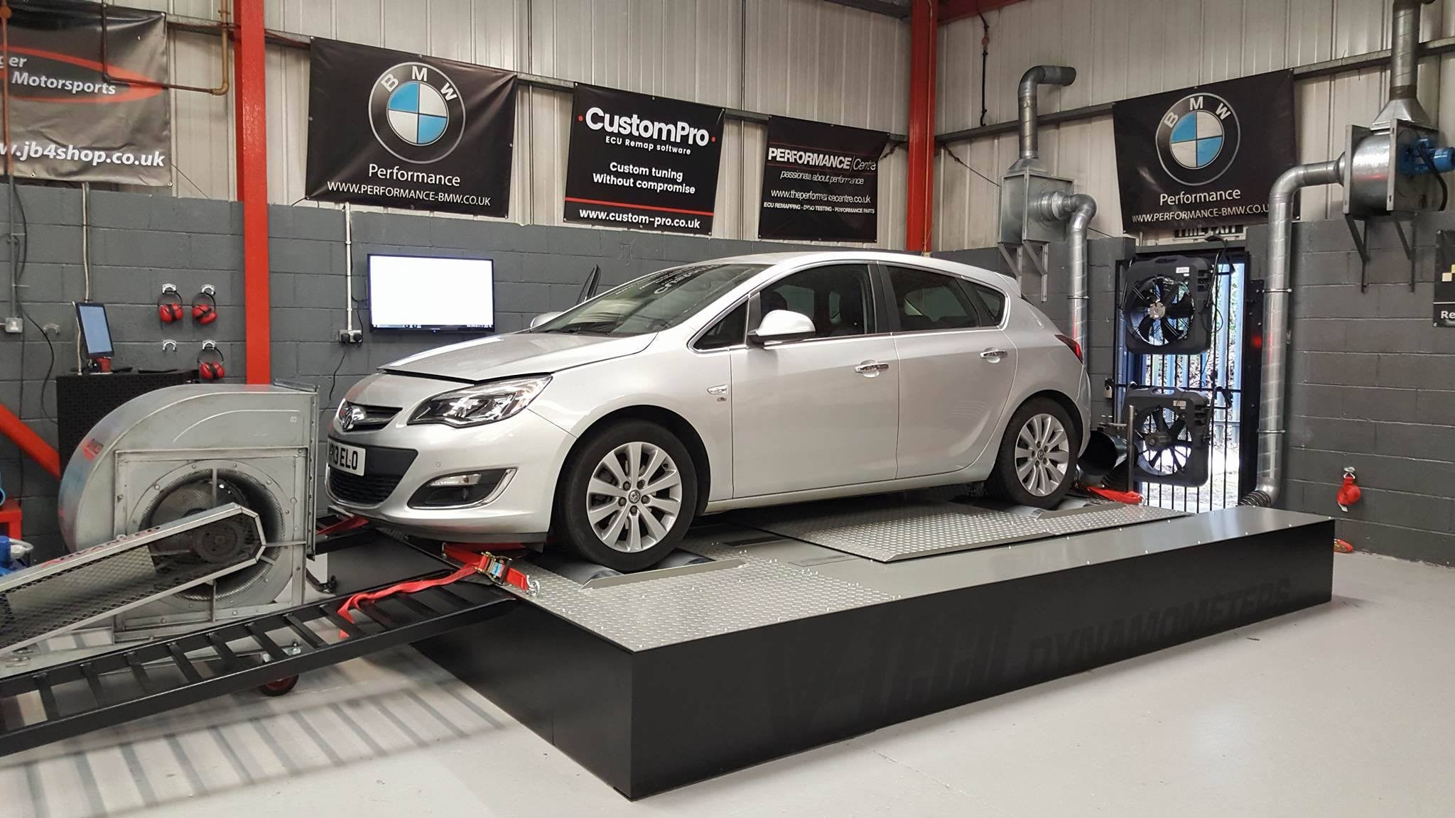 Vauxhall Astra 2.0 CDTI - CustomPro remap software