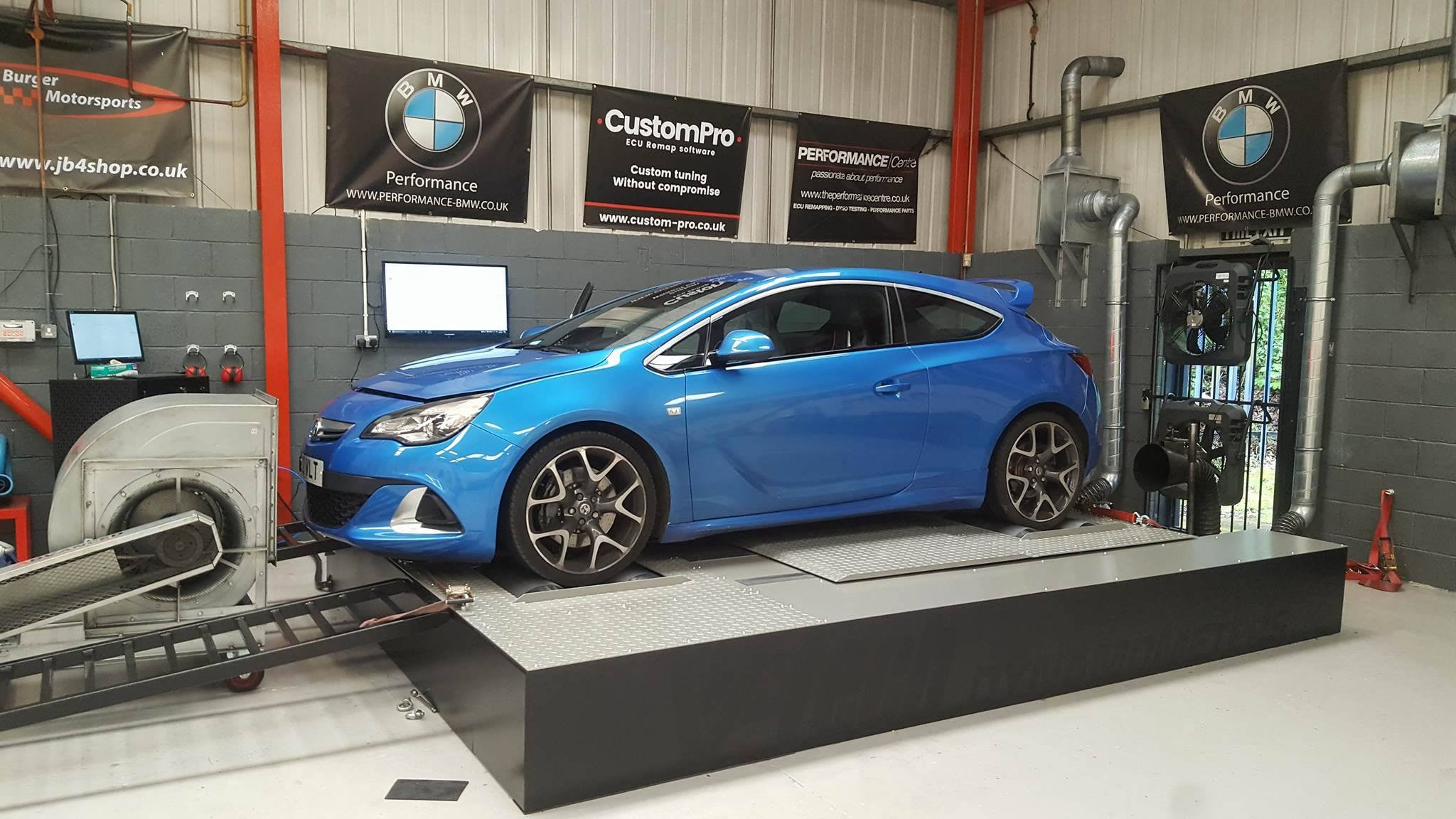 Vauxhall Astra VXR - CustomPro remap