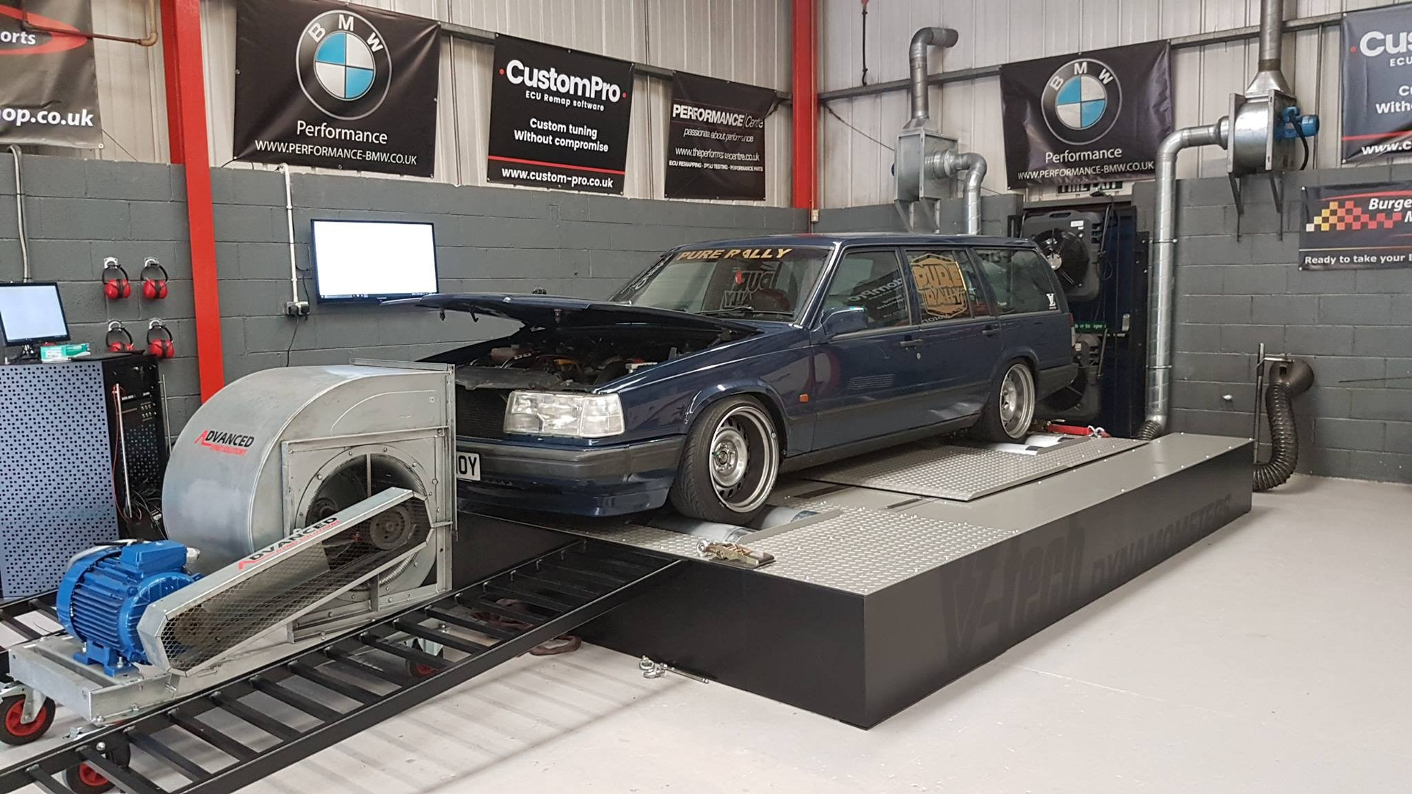 Volvo 940 2 3 Turbo Dyno Test Performance Centre