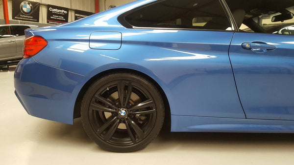 BMW 435XD Eibach lowering springs
