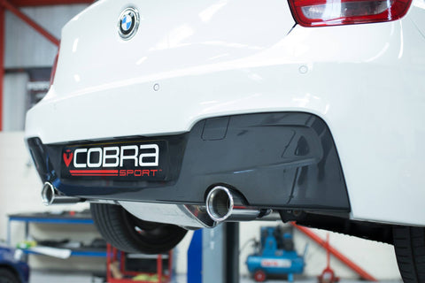 BMW M135i Cobra cat back exhaust
