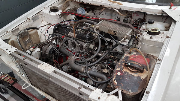 Volkswagen mk1 Golf engine bay