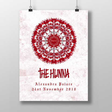 Limited Edition Alexandra Palace Rose Window Poster