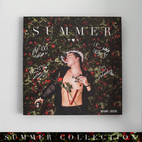 'Summer' Signed & Numbered Wall Canvas (limited to 250)