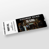 Alexandra Palace Ticket + Hoodie + Poster
