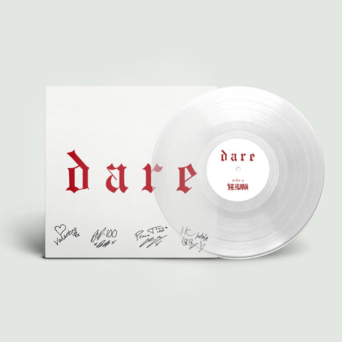 "Signed Promo Style 'Dare' Clear 12"" Vinyl"