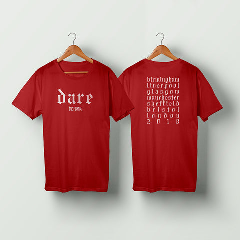 Red Dare Tour Tee