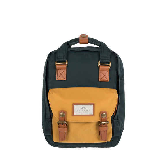 MACAROON MINI : SLATE GREEN YELLOW