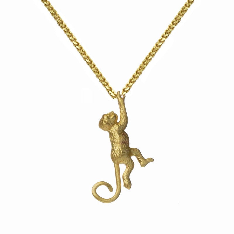 HANGING AROUND NECKLACE GOLD