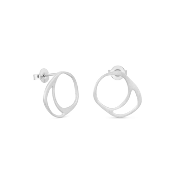 FORMA SILVER EARRINGS