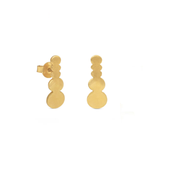 PEBBLES GOLDEN EARRINGS