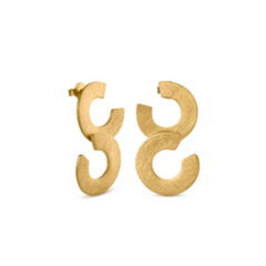 PLETORICA GOLDEN EARRINGS
