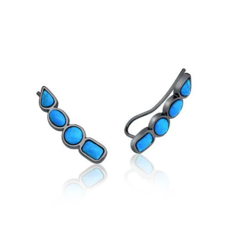 Earring Brise - Turquoise