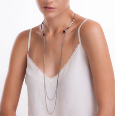 Layers Necklace - Onyx