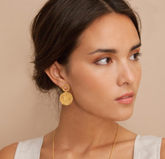 MIMBRE GOLDEN EARRINGS