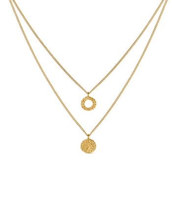 MIMBRE GOLDEN NECKLACE
