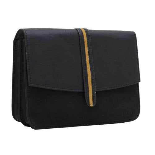 Hope handbag - Black/Caramel