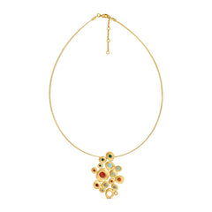 FAVORITA COLORS GOLDEN NECKLACE