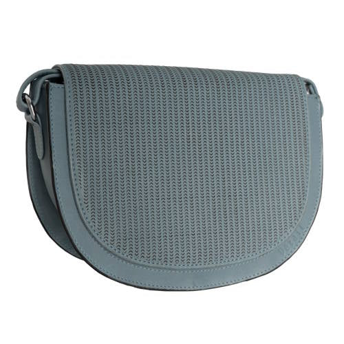 Spirit Perforation Handbag - Light Blue