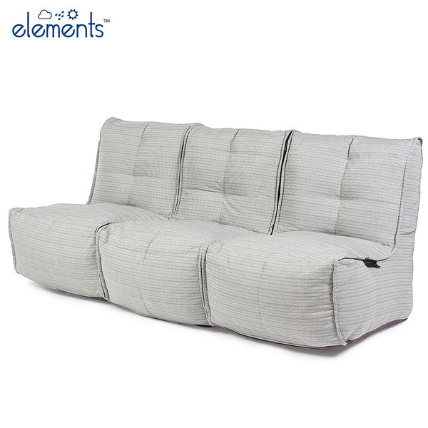 Mod 3 Movie Couch – Silverline (UV Grade AA+)