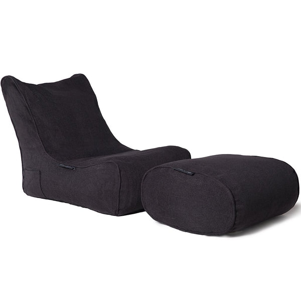 Evolution Chaise Set (Black Sapphire)