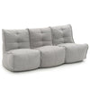 Mod 3 Movie Couch - Keystone Grey (with linen)