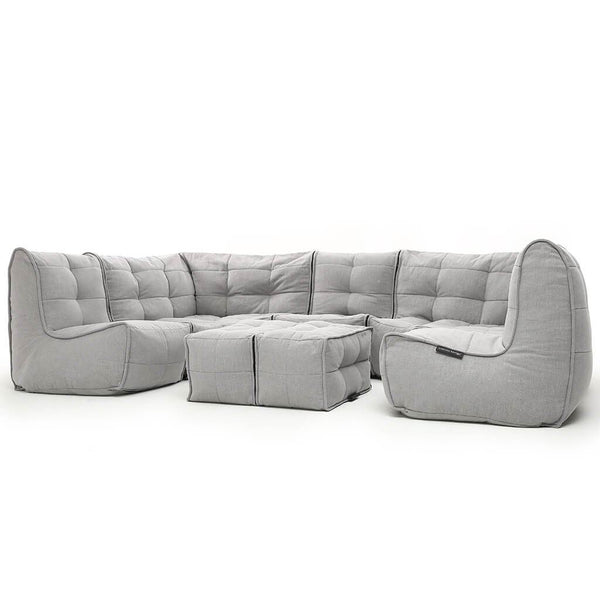Mod 6 Lounge Max - Keystone Grey (with linen)