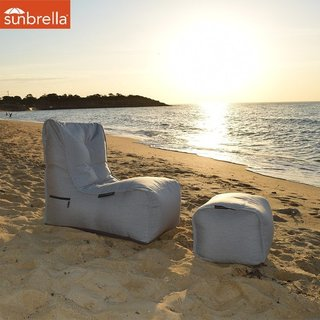 Evolution Sofa - Maldives Grey (Sunbrella)