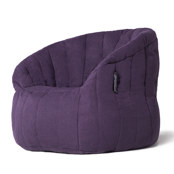 Butterfly Sofa - Aubergine Dream