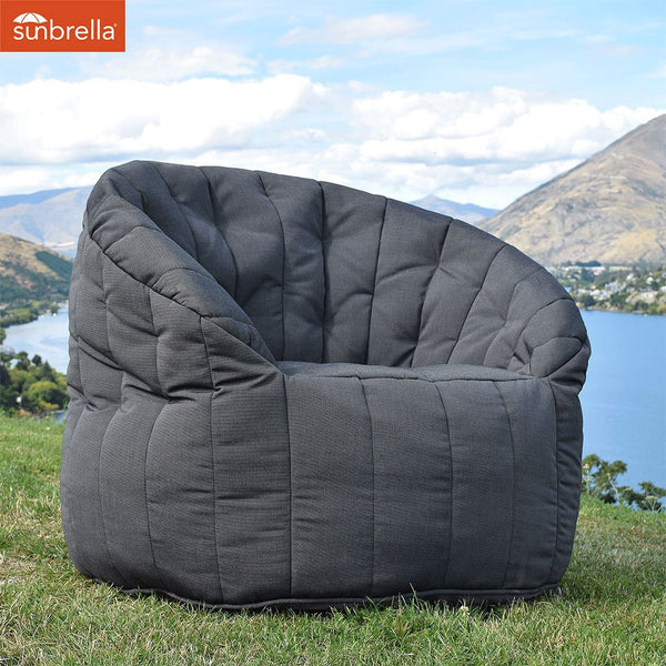 Butterfly Sofa - Black Rock (Sunbrella®)
