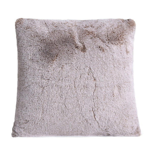 Deluxe Faux Fur Cushion (Cappuccino)