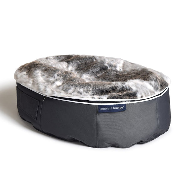 (M) Premium Indoor/Outdoor Pet Bed (Wild Animal)