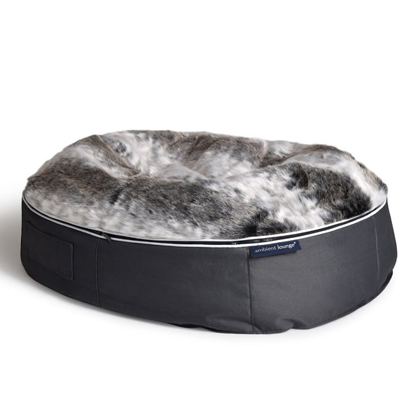 (L) Premium Indoor/Outdoor Pet Bed (Wild Animal)