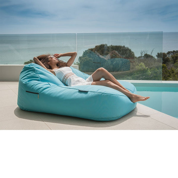 Satellite Twin Sofa - Azurri Blue