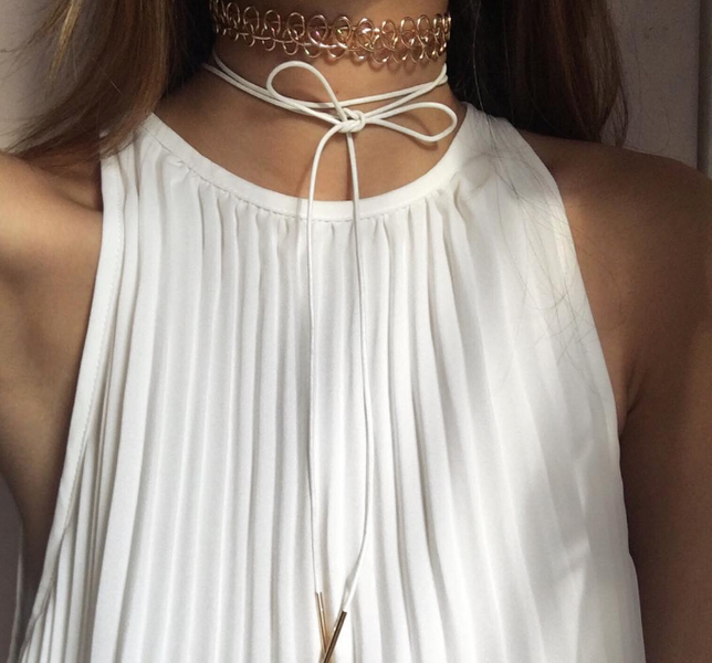 GET THE LOOK: THE CHOKER TREND image