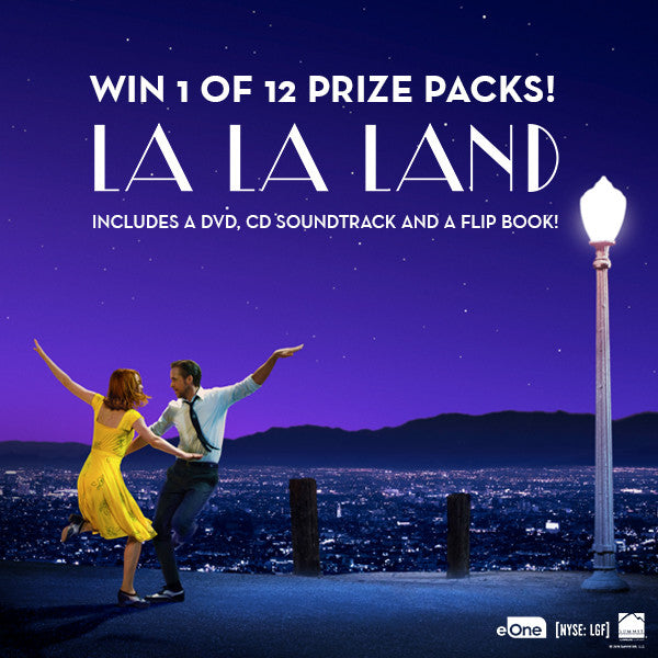 Love La La Land? WIN a Prize Pack! ❤ image