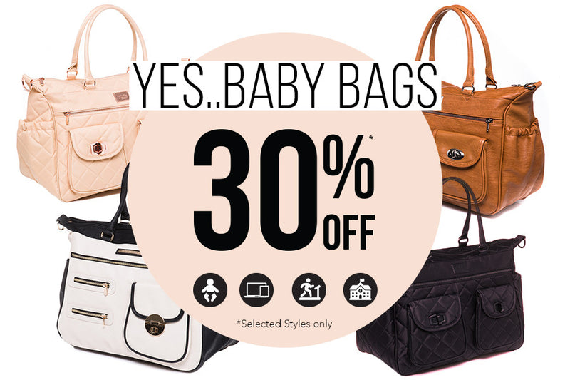 30% off Baby Bags!