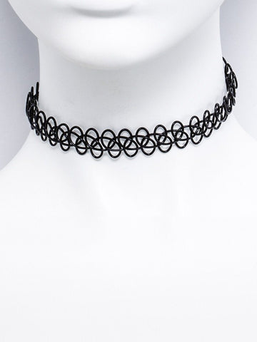 METAL LOOP PATTER CHOKER