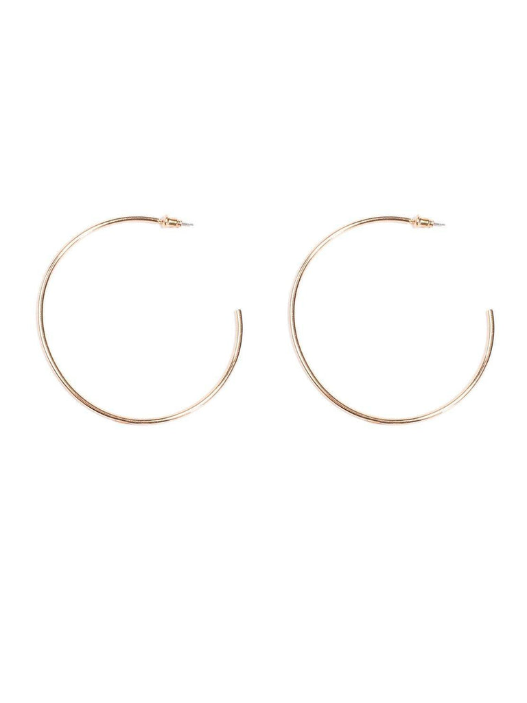 Metal 60mm Hoop Earring
