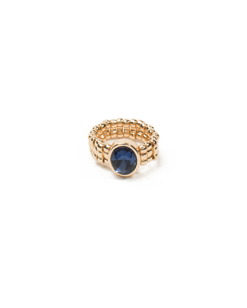 Oval Stone Stretch Ring - Medium/Large