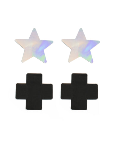 Sticker Pasties Cross Star Pack