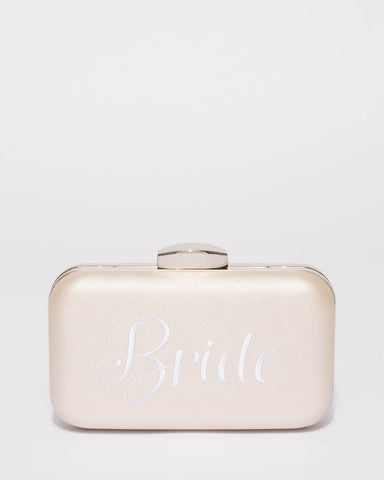 Gold Bride Hardcase Clutch